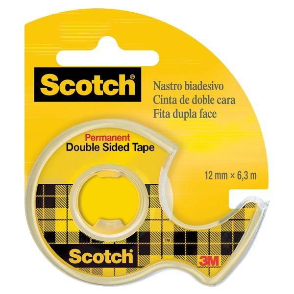 Chiocciola ricaricabile nastro biadesivo Scotch® 665 - 12 mm x 6,3 m - 665-136D - Scotch