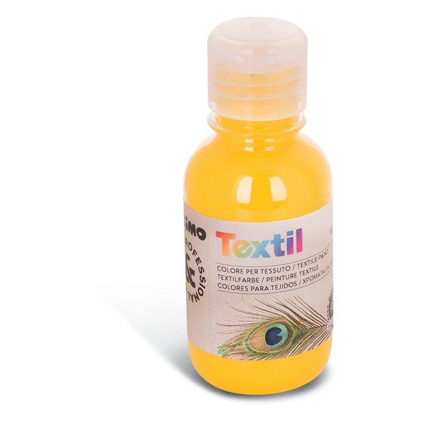 Colore per tessuto Primo - 125 ml - giallo - 410TX125201 - Primo