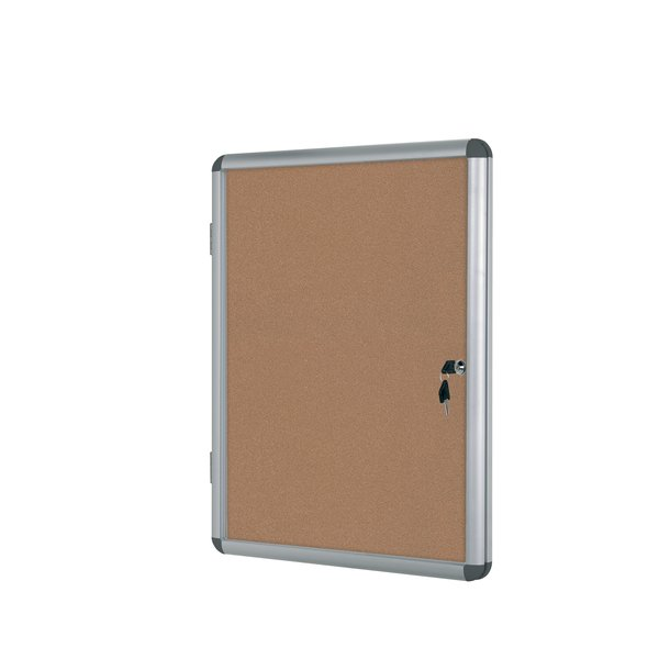 Bacheca Enclore in sughero Bi-Office - 9xA4 - 72x98,1 cm - VT630101150 - Bi-Office