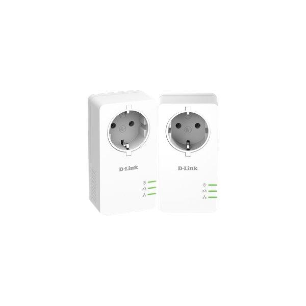 Kit PowerLine Gigabit AV2 1000 D-Link - bianco - DHP-601AV ( conf.2) - D-Link