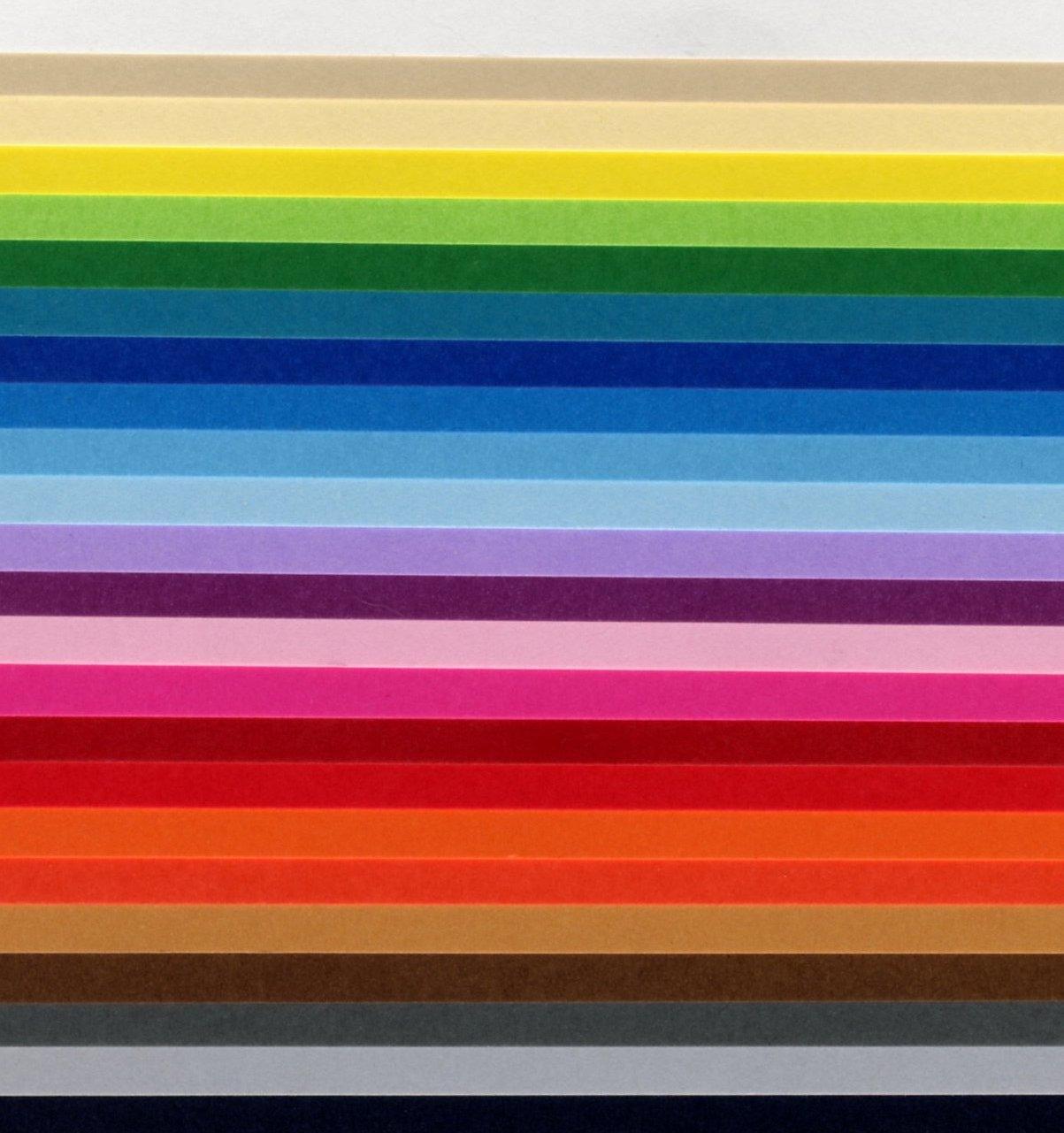Cartoncino fabriano bristol 50 x 70 cm 200 gr colorati - Caduta fogli di colore stampabili ...
