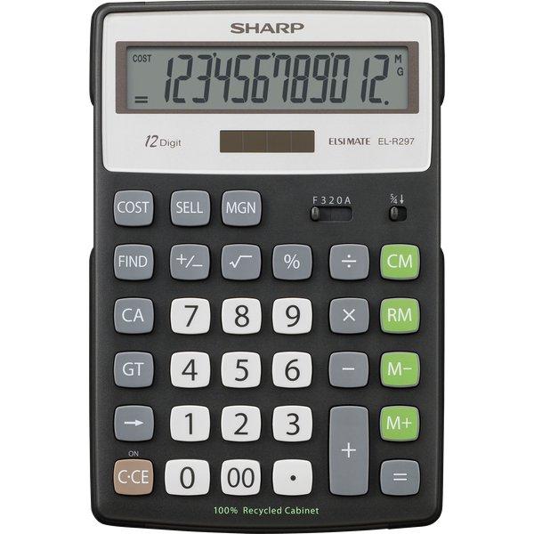 Calcolatrice da tavolo ELR297BBK C Sharp - ELR297BBK - Sharp
