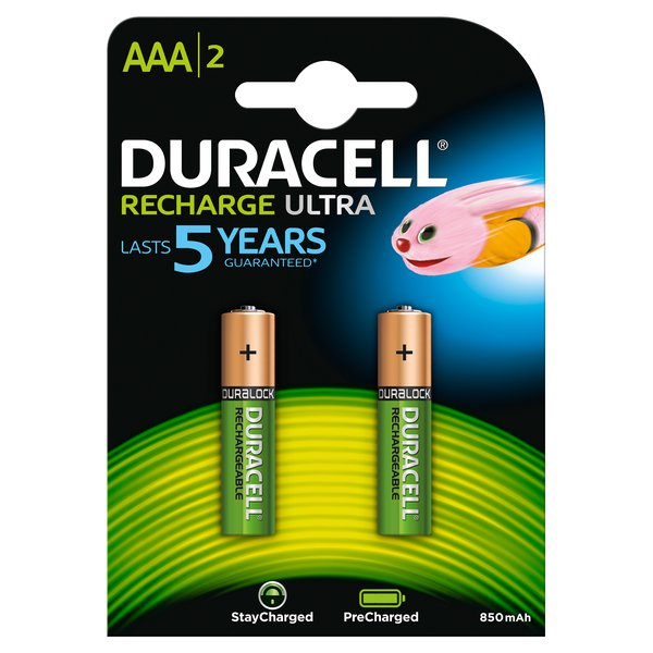 Pila ricaricabile stay charged Duracell - ministilo - AAA - 1,2 V - 94803817 (conf.2) - Duracell