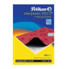 Carta carbone Interplastic 1022G Pelikan - nero - 0C01AA (conf.10) - Pelikan