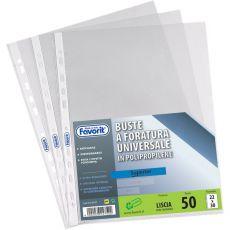 Buste a foratura universale Air-Special Favorit - Superior liscia 18x24 cm - 100460022 (conf.25) - Favorit