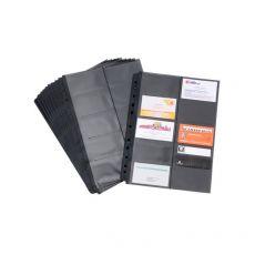 Buste di ricambio per porta biglietti da visita Black Tie Tecnostyl - 23x30 cm - BT611 (conf.10) - Tecnostyl