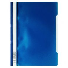 Cartellina ad aghi Clear View Durable - A4 PPL - blu - 2573-07 (conf.50) - Durable
