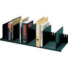 Sistema multiblocco Paperflow - Reggilibri con separatori regolabili - nero - 4932.01 - Paperflow