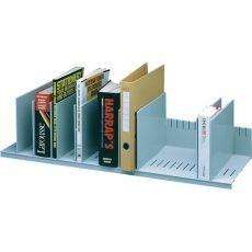 Sistema multiblocco Paperflow - Reggilibri con separatori regolabili - grigio - 4932.02 - Paperflow