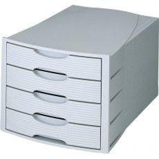 Cassettiera Monitor HAN - grigio/grigio - 4 cassetti - 1001-K-11 - HAN