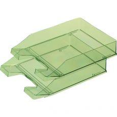 Portacorrispondenza HAN - trasparente verde - 1026.27 (conf.6) - HAN