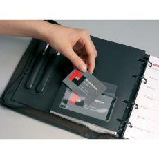 Portabiglietti da visita adesivi Durable - 57x90mm - 8093-19 (conf.10) - Durable