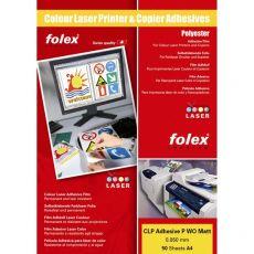 Film adesivo per stampanti e copiatrici Folex - A4 - bianco opaco- 2999M.050.44100 (conf.50) - Folex