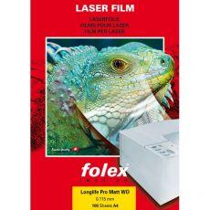 Film per stampanti laser e copiatrici Folex - bianco mattato - 140 my - 29738.140.44000 (conf.100) - Folex