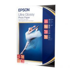 Carta Fotografica Lucida Ultra Epson - A4 - C13S041927 (conf.15) - Epson