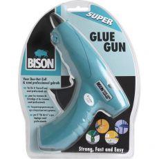 Pistola glue gun Bison per colla termofusibile - D0333 - Bison