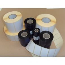 KIT etichette-ribbon Etiform - 100x100 - 2950 - 1'' - K100x100x150R4 (conf.1 ribbon; 2950 etic.) - Etiform