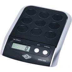 Bilancia Optimo 2000 Wedo - 23x15x4 cm - portata 2 kg - scala 1 g - V200025 - Wedo