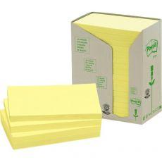 Post-it® Note in carta riciclata - giallo - 127x76 mm - 655-1T (conf.16) - Post-It