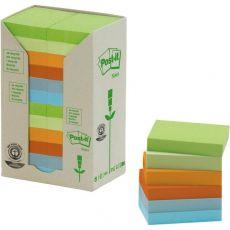 Post-it® Note in carta riciclata - assortiti pastello - 38x51 mm - 653-1RPT (conf.24) - Post-It