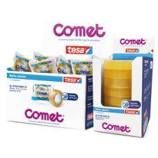 Comet Cellophane - Confezione a caramella - 19 mm x 10 m - 64160-00000-05 - Comet