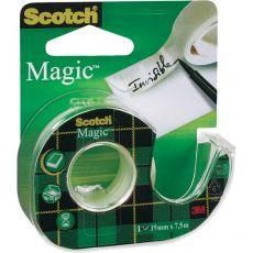 Nastro adesivo Scotch® Magic™ 810 - Chiocciola ricaricabile - 19 mm x 7,5 m - 8- 8-1975 D/89511 - Scotch