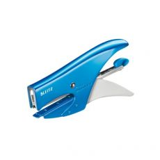 Cucitrice a pinza 5547 Leitz - azzurro metallizzato - 55472036 - Leitz