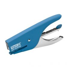 Cucitrice a pinza Supreme S51 Soft Grip Rapid - blu - 10538742 - Rapid