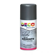 Bombole Vernice Spray CWR - argento - 615/2 - DECO