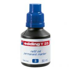 Inchiostro permanente per marcatori Edding - blu - 30 ml - 4-T25003 - Edding