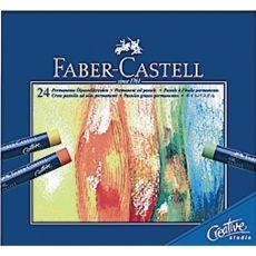 Oil Pastel Creative Studio Faber Castell - assortiti - 127024 (conf.24) - Faber Castell