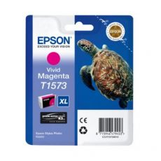 Orig. Epson C13T15734010 Cart. inkjet alta cap. ink pig. blister RS TARTARUGA- XL T1573 magenta vivido - Epson