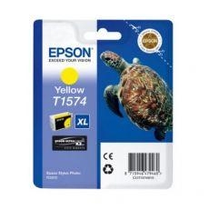 Orig. Epson C13T15744010 Cart. inkjet alta cap. ink pig. blister RS TARTARUGA-TAGLIA XL T1574 giallo - Epson