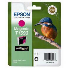 Orig. Epson C13T15934010 Cartuccia inkjet ink pigmentato blister RS Martin Pescatore-Taglia XL magenta - Epson