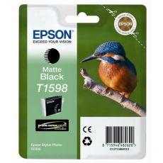 Orig. Epson C13T15984010 Cart. inkjet ink pigmentato blister RS Martin Pescatore-Taglia XL nero opaco - Epson