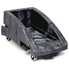 Carrello con ruote per tutti gli Slim Jim Rubbermaid - nero - 59,5x38,1x27,5 cm - 3551-88- FG355188BLA - Rubbermaid