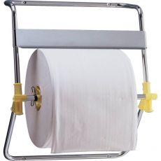 Dispenser per bobine QTS - murale - Cromato - 46,5x41x53 cm - Ø 40 x L 30 - 4096/OOO - QTS