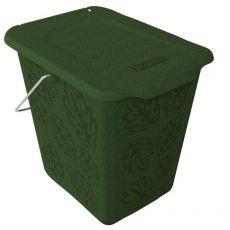 Cestino per rifiuti organici Rotho - verde - F707758 - Rotho