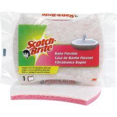 Spugna bagno Scotch-Brite® - bianco/azzurro - 150x75x40 mm - 5884 - Scotch-Brite