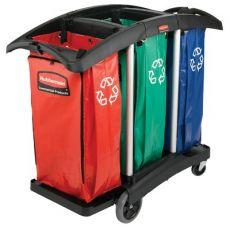 Set 3 sacchi raccolta differenziata per carrello 9T92 Rubbermaid - 100 l - 9T93-01 (conf.3) - Rubbermaid