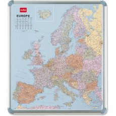 Cartina magnetica Nobo - politica - Europa - 111x95 cm - 1900494 - Nobo
