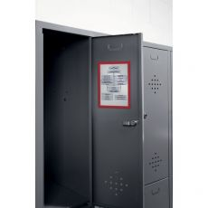 Cornice magnetica Durable - A4 - rosso - 4869-03 (conf.5) - Durable