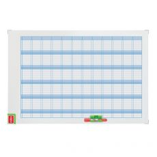 Planning magnetico Performance Nobo - annuale - 60x90 cm - 3048001 - Nobo
