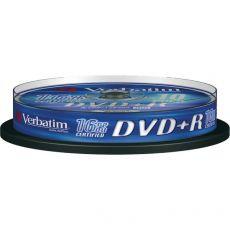 DVD Verbatim - DVD+R - 4,7 Gb - 16x - Spindle - 43498 (conf.10) - Verbatim
