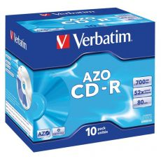 CD Verbatim - CD-R - 700 Mb - 52x - Jewel case - 43327 - Verbatim