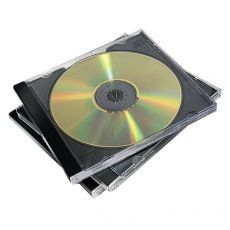 Custodia per CD Fellowes - 98310 (conf.10) - Fellowes