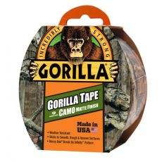 Gorilla Tape, Nastro adesivo Camo, mimetico - 3044501 - 47.8mm x 8.23m - Gorilla Glue
