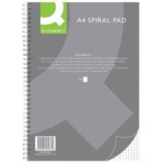 Blocco spiralato A4 Q-Connect 80 ff quadri 5 mm KF01981 - Q-Connect