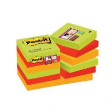Foglietti Post-it® Super Sticky Marrakesh Post-It - 47,6x47,6 mm - 622-12SSMAR-EU (conf.12) - Post-It