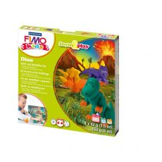 FIMO kids scatola gioco form&play Staedtler - Dinosauri - 8034 07 LY - Staedtler